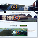 Example of how Spitfire Mk IX & XVI shows each area of the complete aircraft.